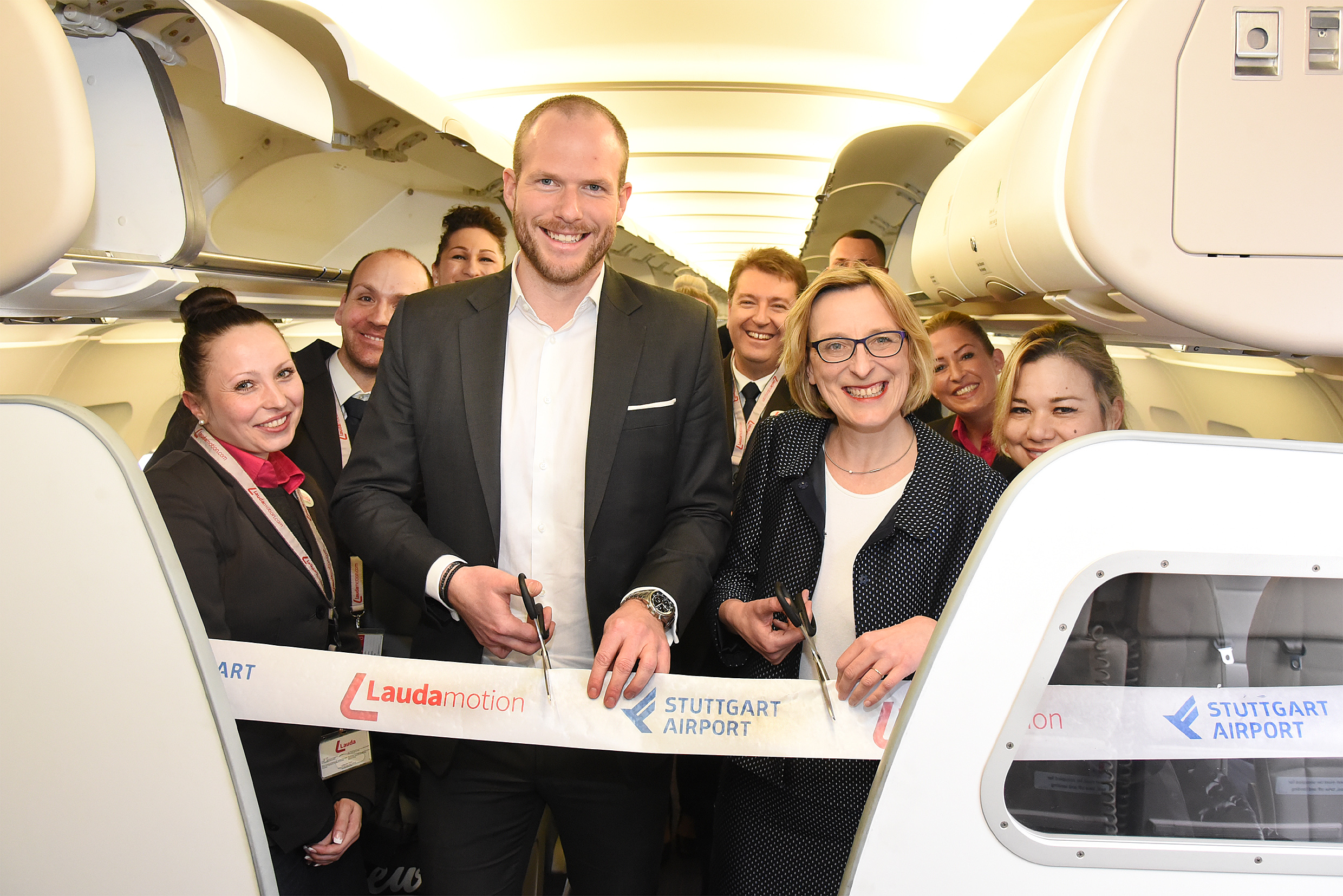 190301 Laudamotion Ribbon Cutting 24