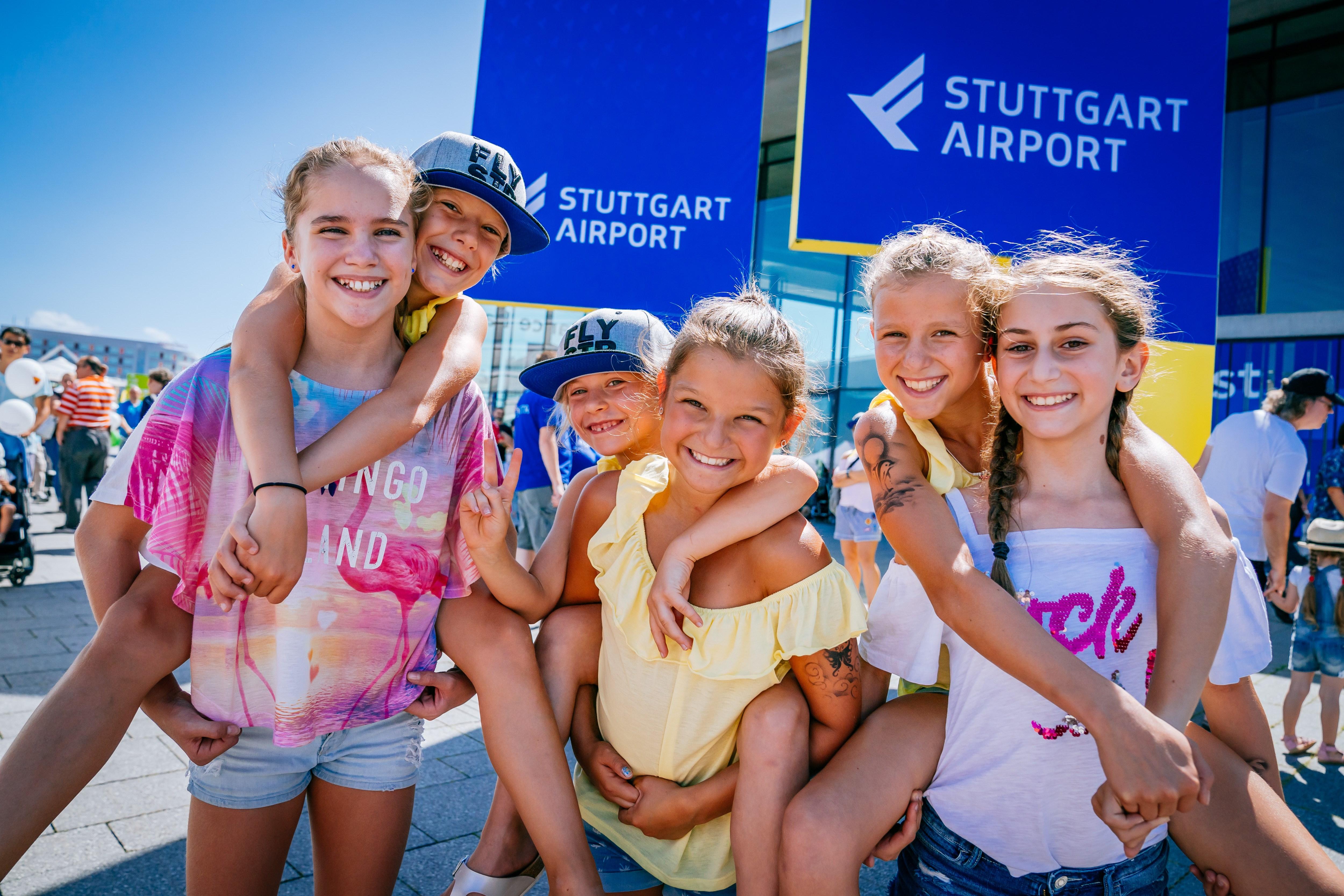 Kinderfest Am Flughafen Stuttgart Fun Am Flughafen Stuttgart Stuttgarter Zeitung