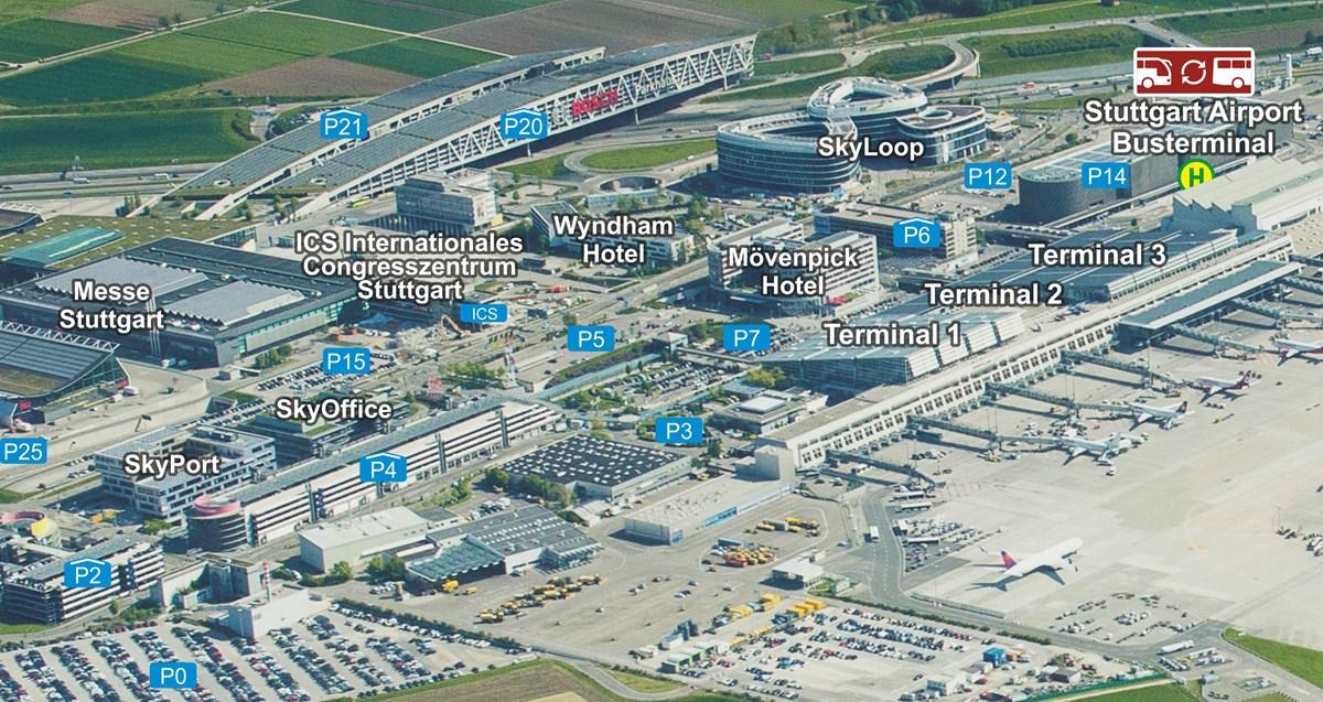 Parken Mit Hotel Am Airport Stuttgart